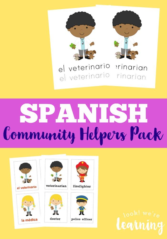 FREE Community Helpers Pack