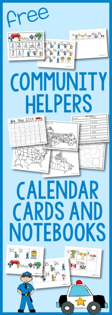 FREE Community Helper Cards