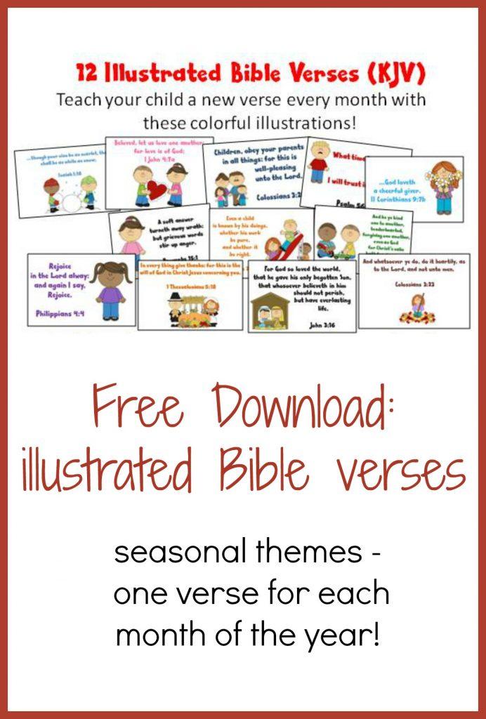 FREE Bible Verse Printables