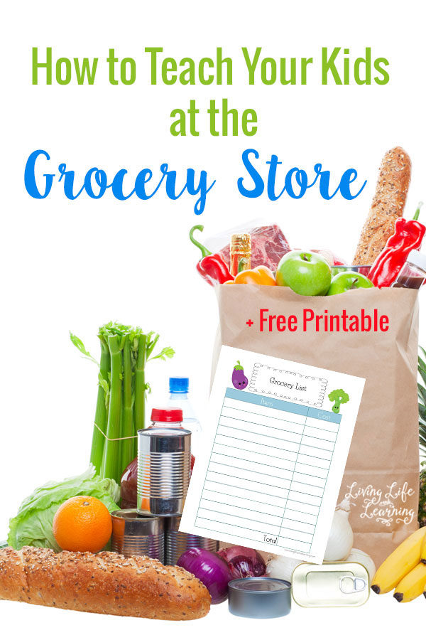 FREE Grocery Store Pritnables