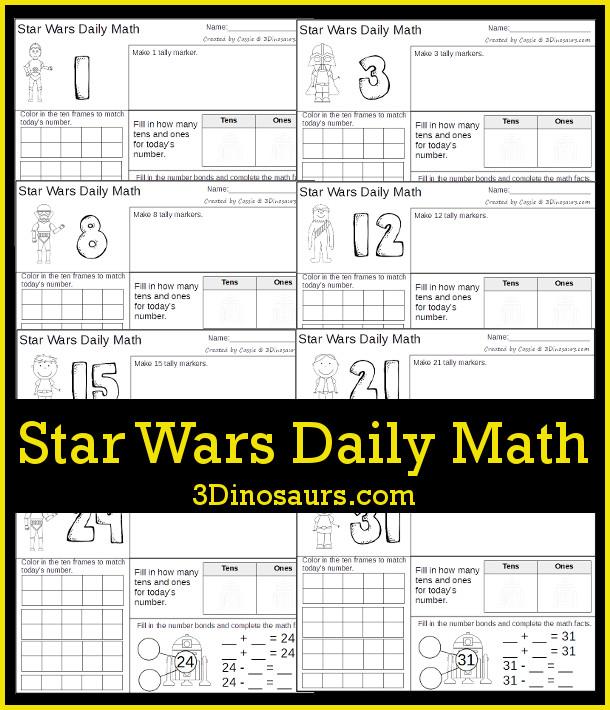 FREE Star Wars Math