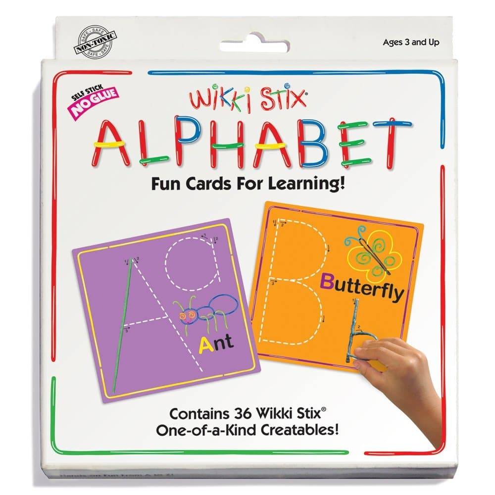 Wikki Stix Alphabet Fun Cards Only $12.64! (15% Off!)