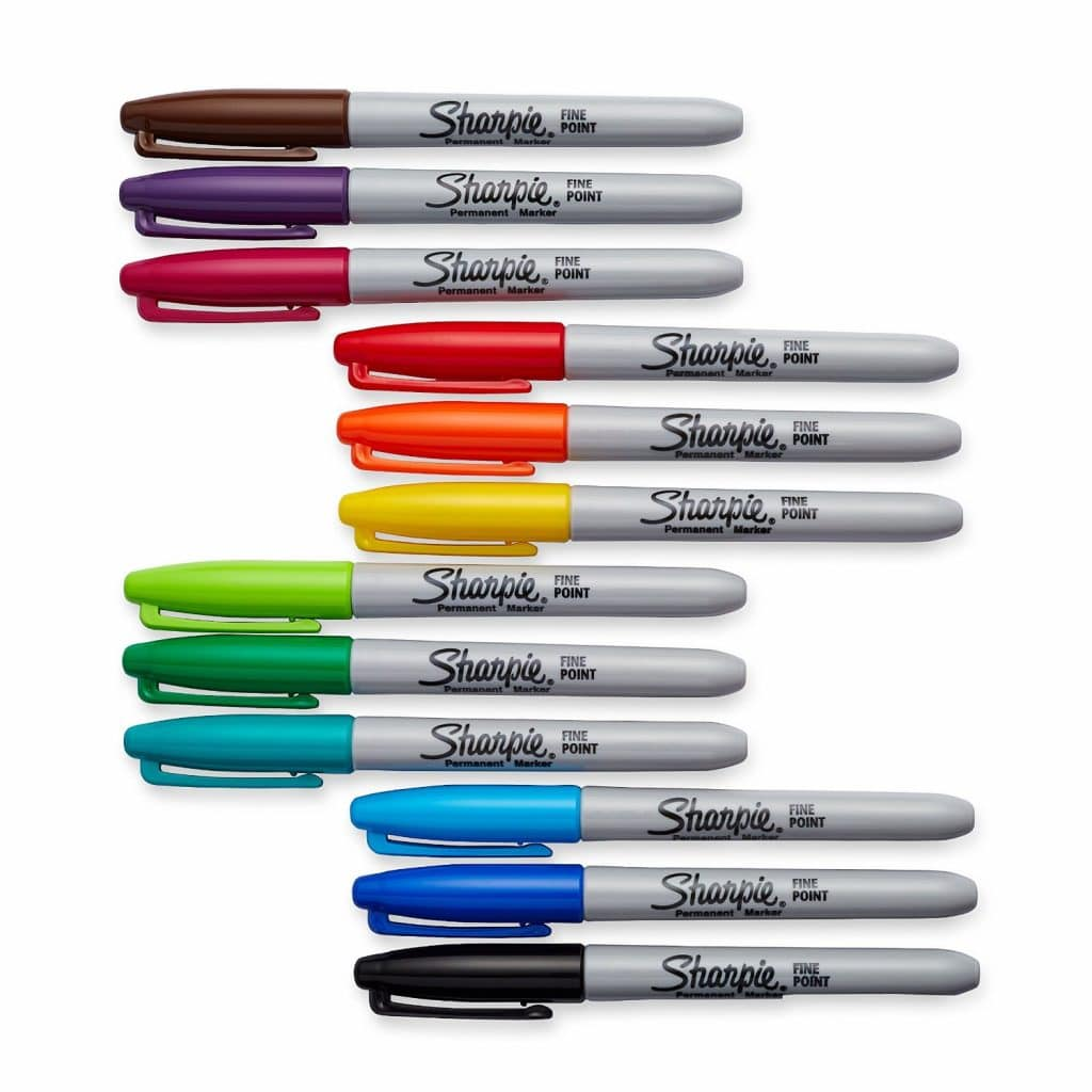 Sharpie 12 Pack Permanent Markers Only $5.47!