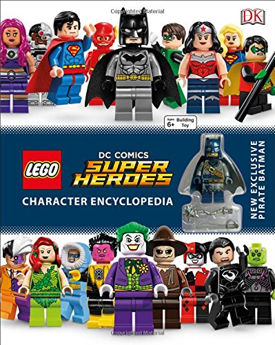 LEGO DC Comics Super Heroes Character Encyclopedia Only $8.25!