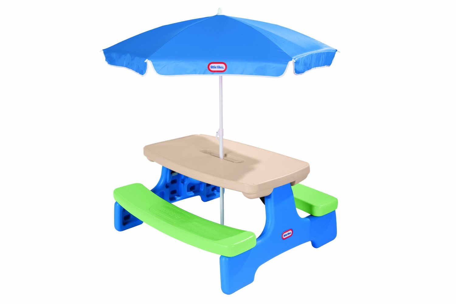 Little Tikes Easy Store Picnic Table with Umbrella Only $60! (Reg. $90!)