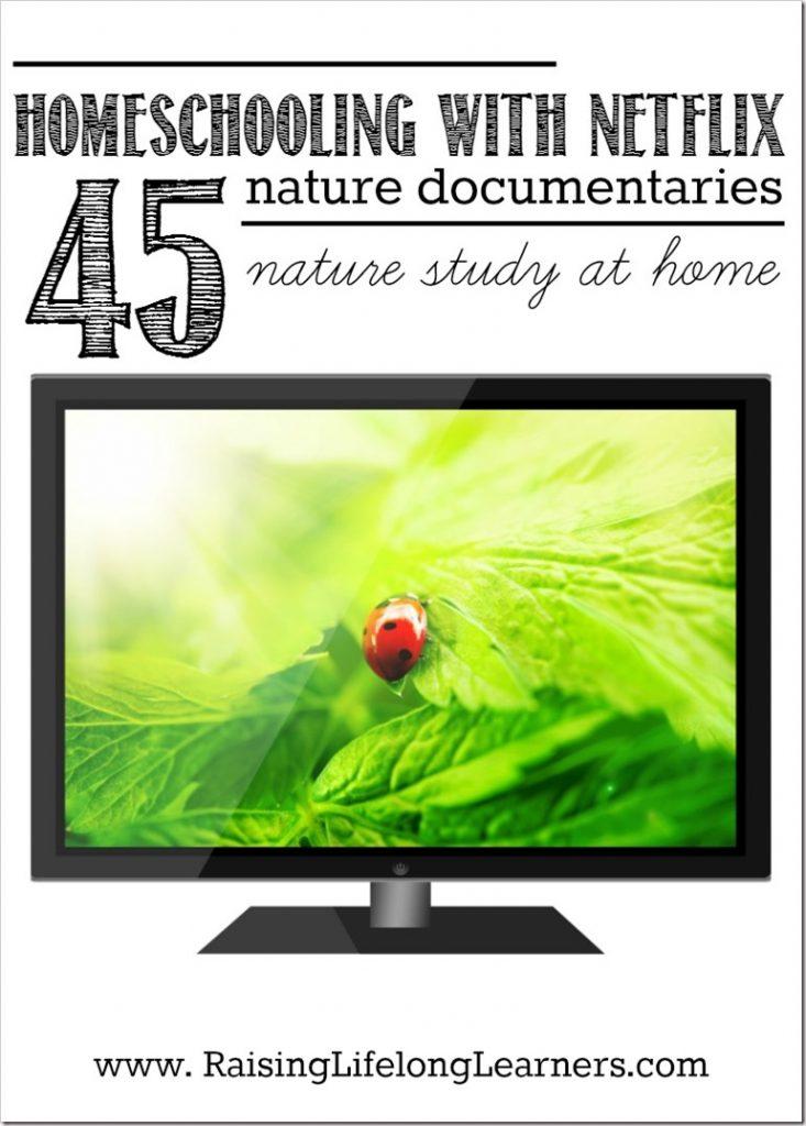 Homeschooling with Netflix nature study