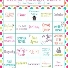 FREE SUMMER READING BINGO (Instant Download)