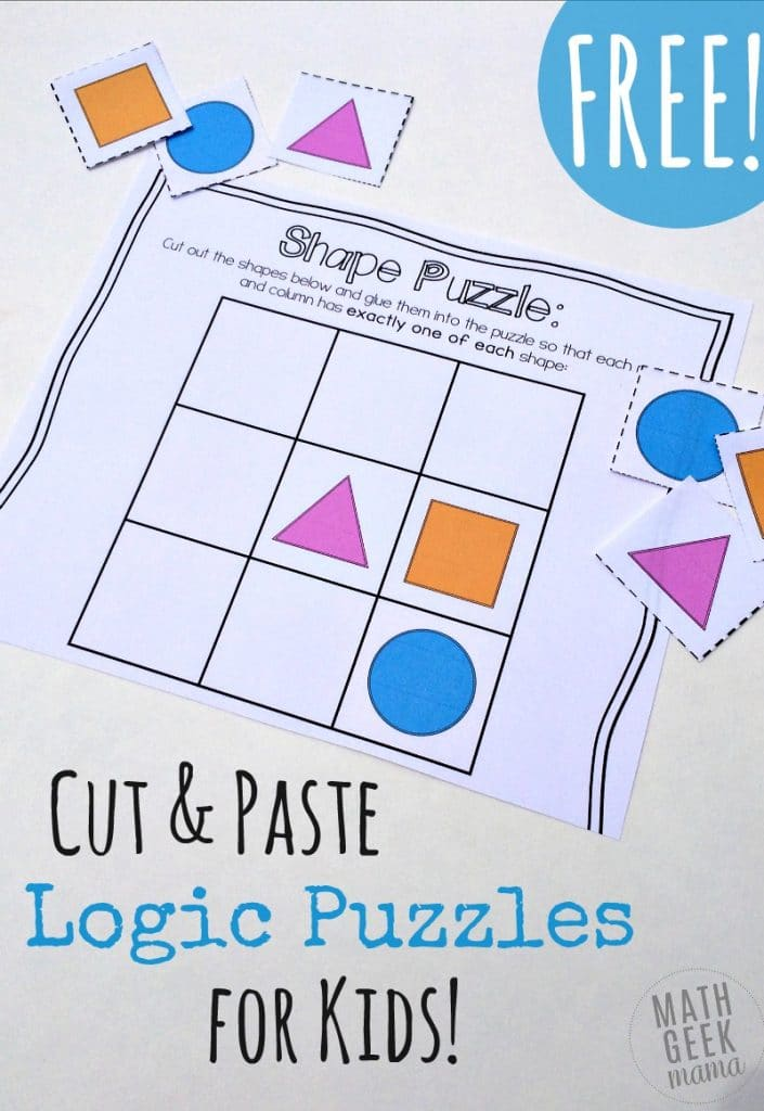 FREE Math Puzzles