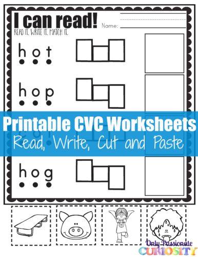 FREE CVC Reading pack