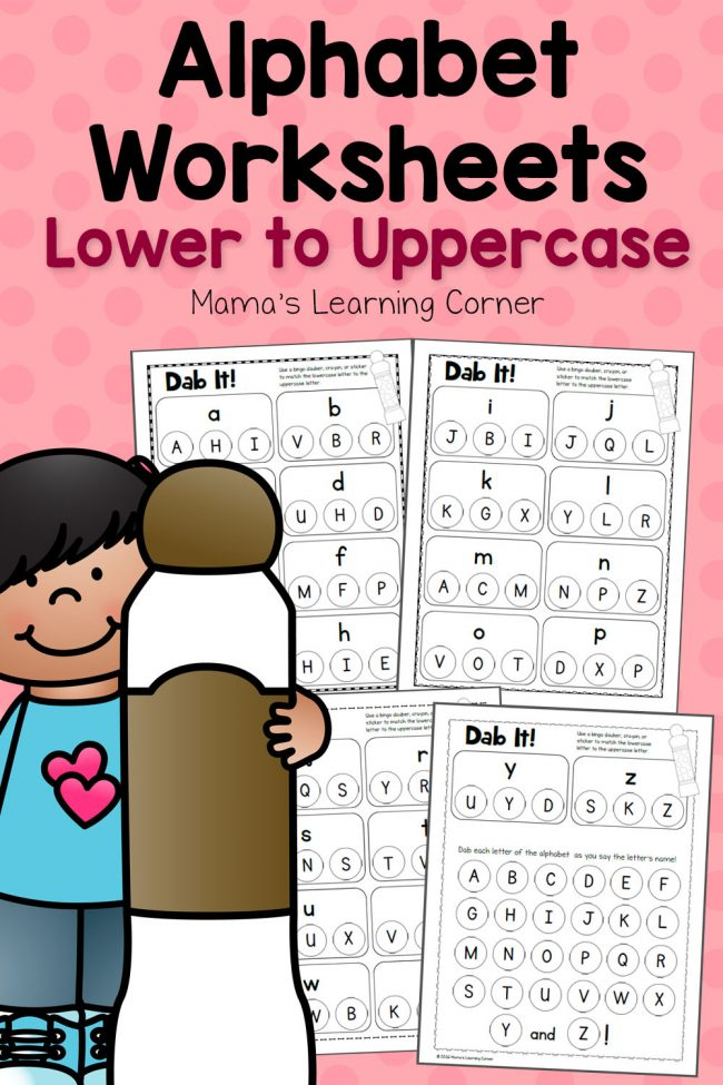 FREE Upper and Lower Case Match Pack