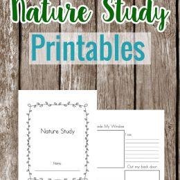 FREE Nature Study Printables