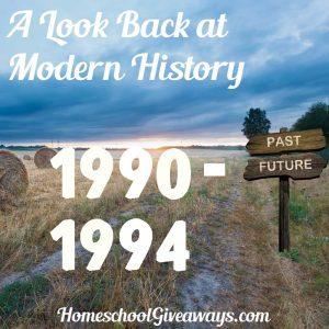 FREE Look Back at Modern History: 1990-94
