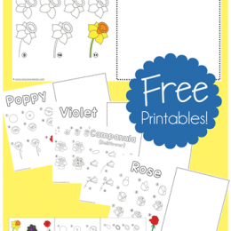 FREE Flower Drawing Pack