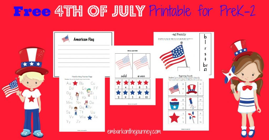 FREE 4th of July Pack