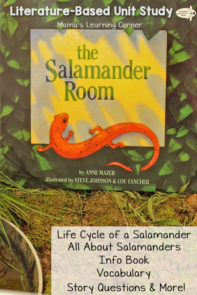 FREE Salamander Room Unit Study