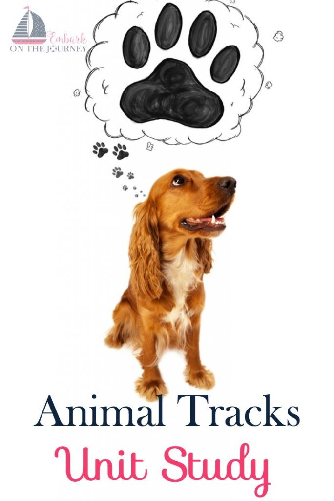 FREE Animal Tracks Unit Study