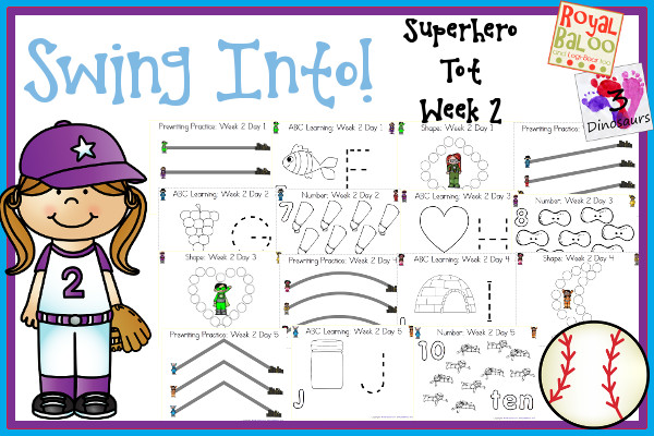 FREE Swing into Learning Pack