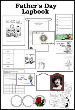 FREE Father's Day Lapbook