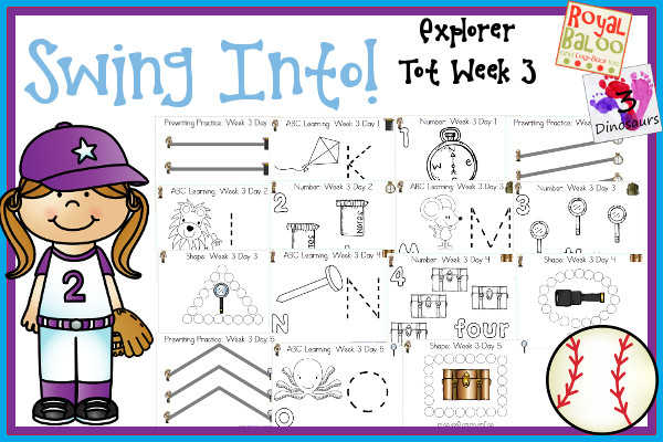 FREE Swing into Summer learning Pack