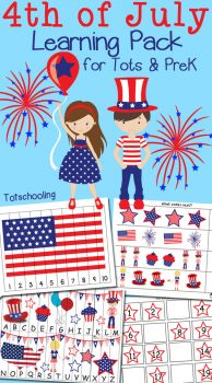 FREE 4th of July Learning Pack