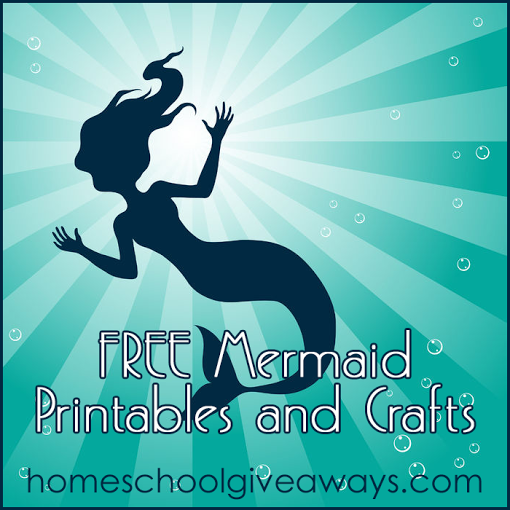 FREE Mermaid Printables and Crafts