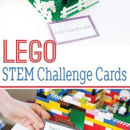 FREE Lego Stem Challenge Cards