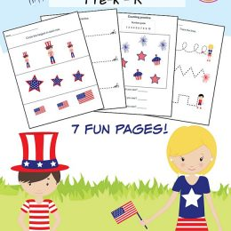 FREE 4th of July Printable Pack