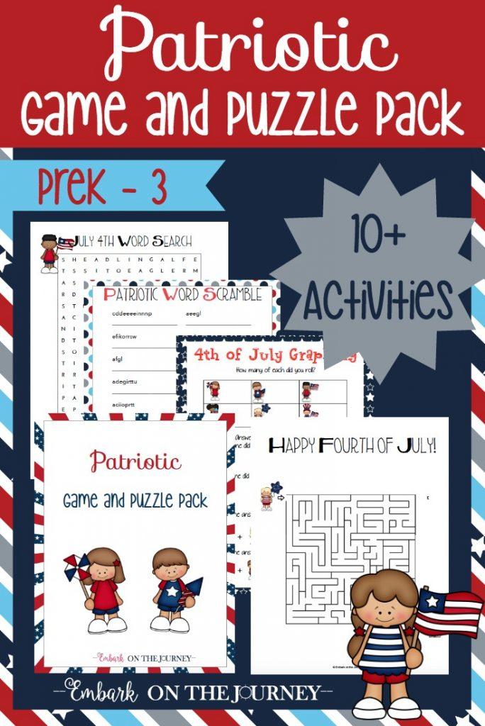 FREE Patriotic Printables Pack