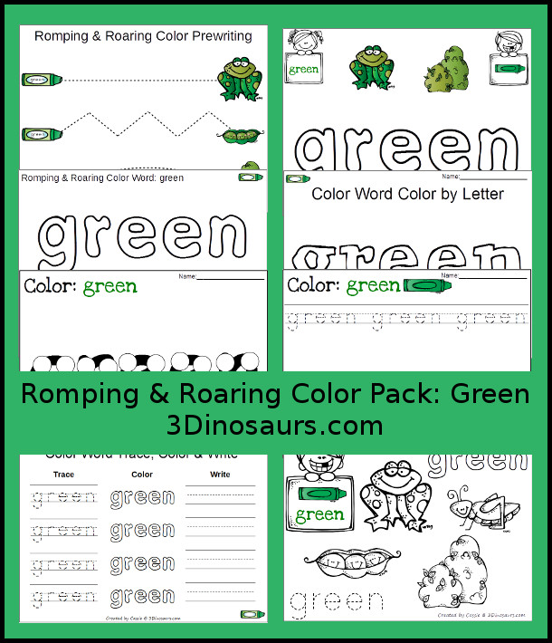 FREE Green Color Pack