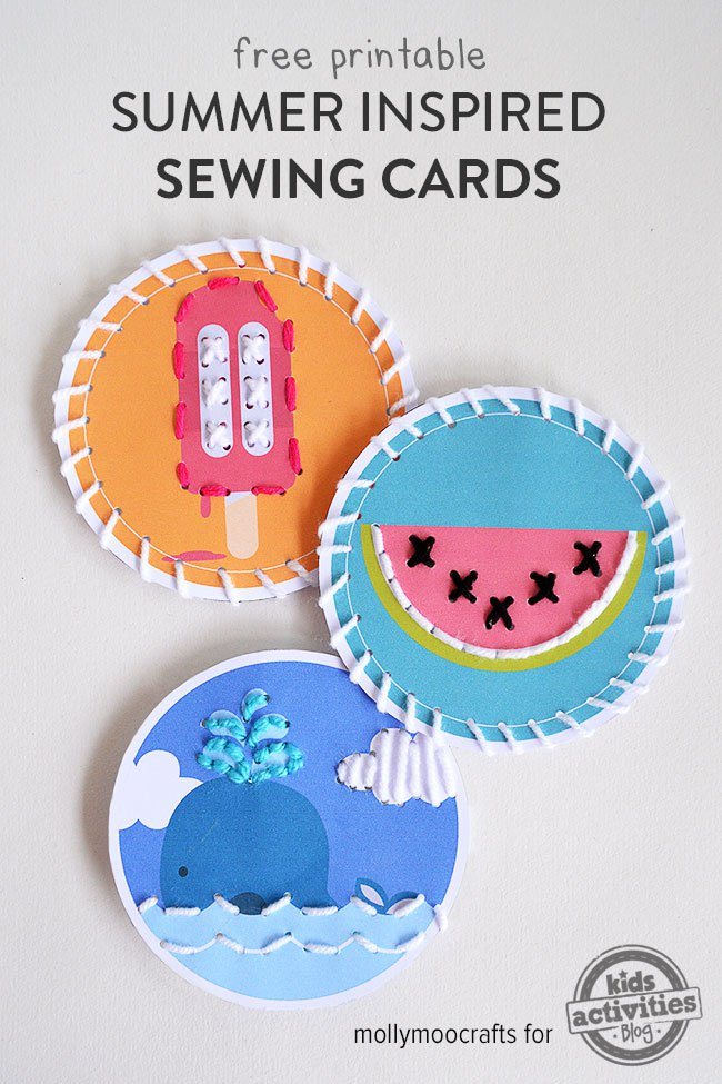 FREE Sewing Cards