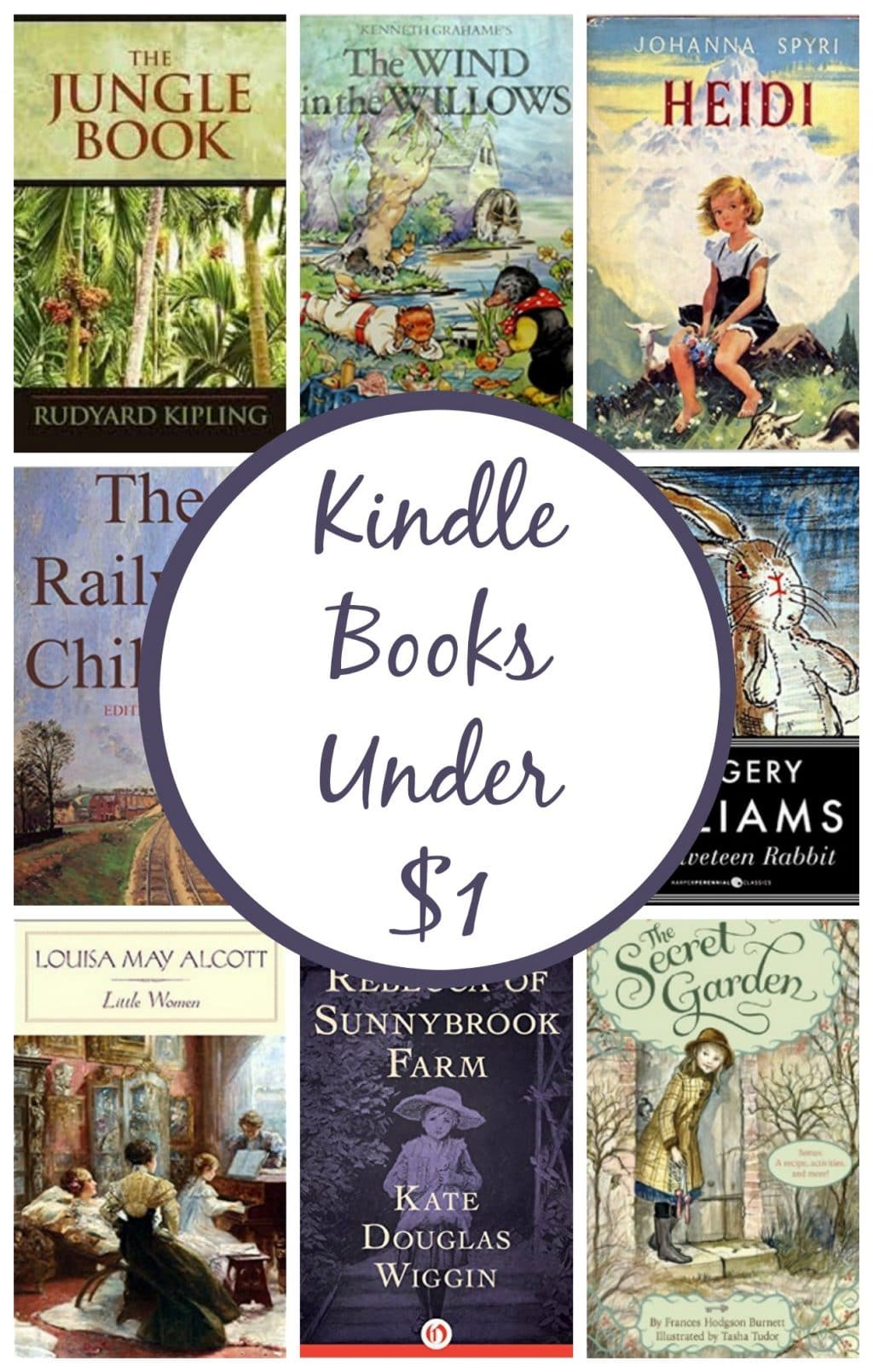 8 Kindle Book Deals Under $1!
