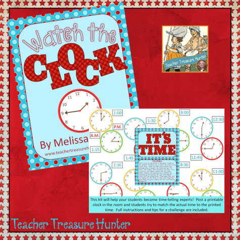 Free Watch the Clock Printables