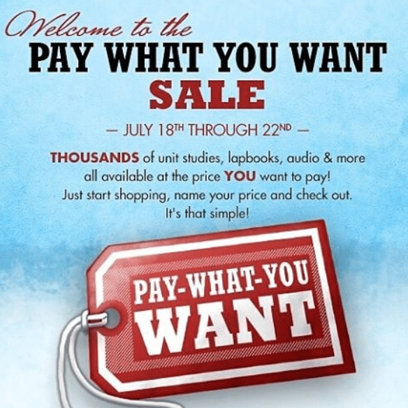 Currclick Pay What You Want Sale - Limited Time!