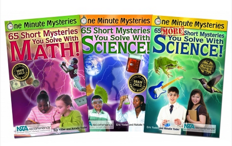 One Minute Math & Science Mysteries Book Set Only $24! (32% Off!)
