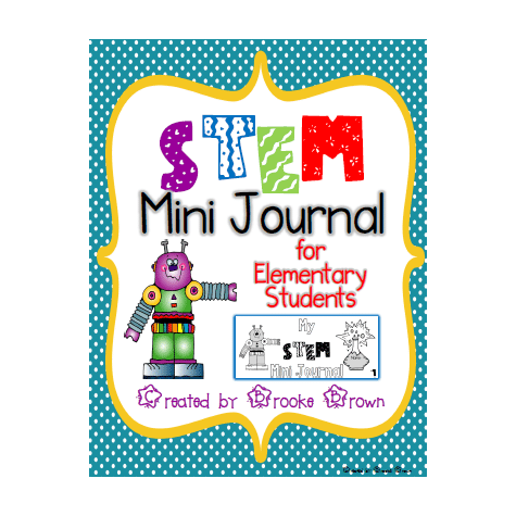 FREE STEM Mini Journal for Elementary Students