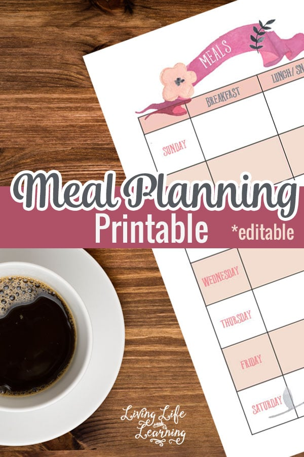 FREE Meal Planning Pack