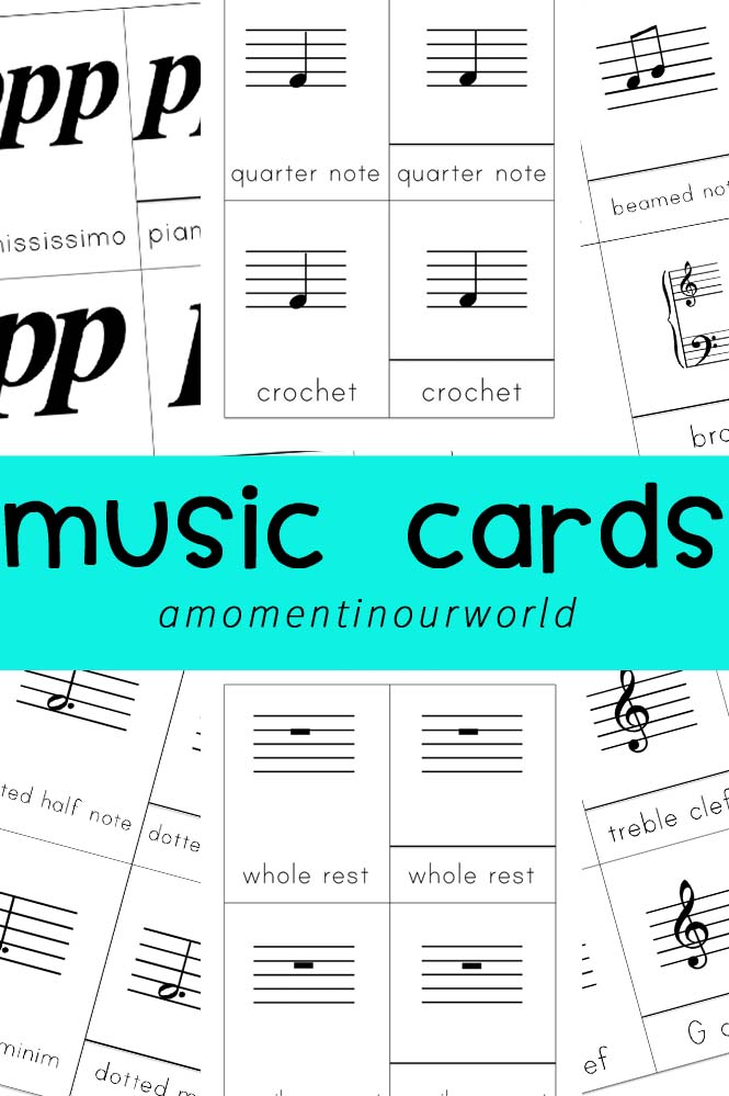 FREE Music Cards