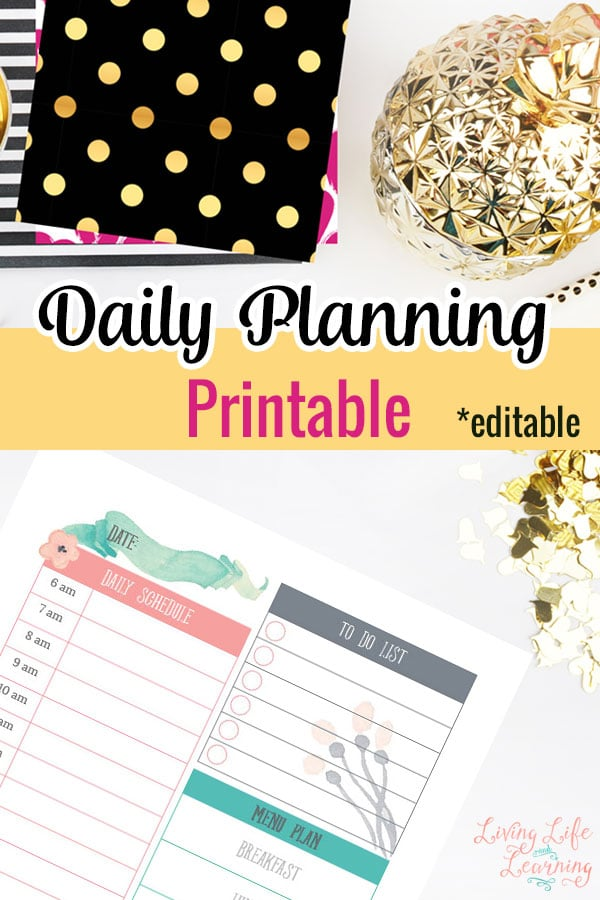 FREE Daily Planning Printables