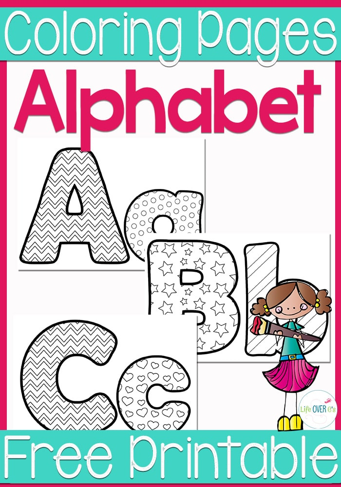 FREE Alphabet Coloring Pages | Free Homeschool Deals