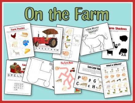 FREE On the Farm Set