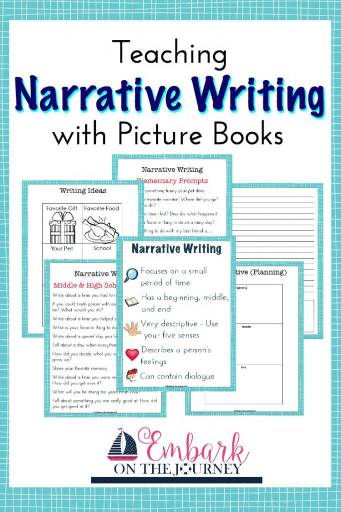 Teach Narrative Writing with Picture Books