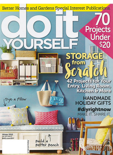 Do It Yourself Magazine Only $9.99/Year!
