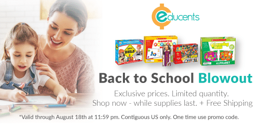 Back to School Blowout Sale at Educents