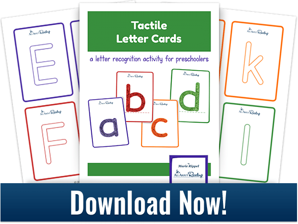 Free Printable DIY Tactile Alphabet Cards
