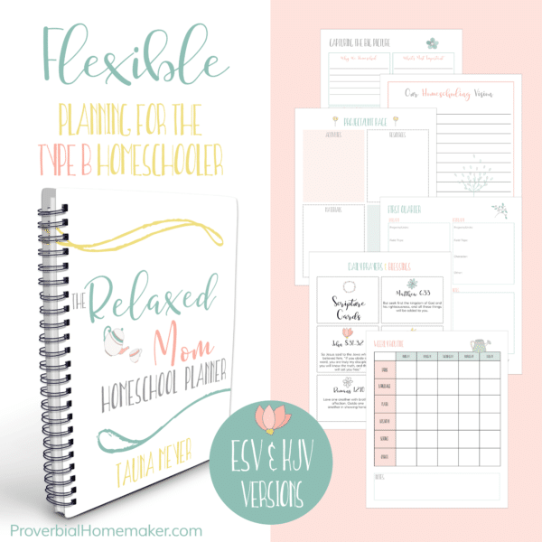 Relaxed Mom Homeschool eCourse & Planner Only $19! (Reg. $25!)