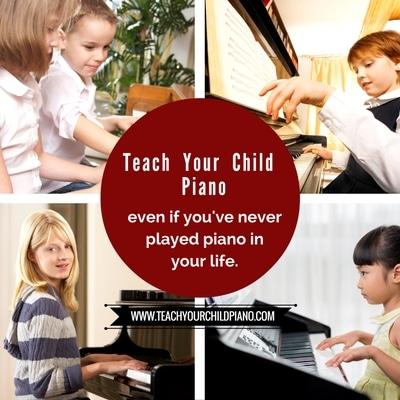FREE Teach Your Child Piano Mini Course