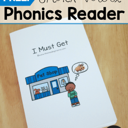 FREE Short Vowel Reader
