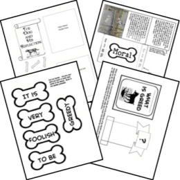 FREE Aesop's Fable Lapbooks