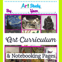 FREE Art Notebooking pages