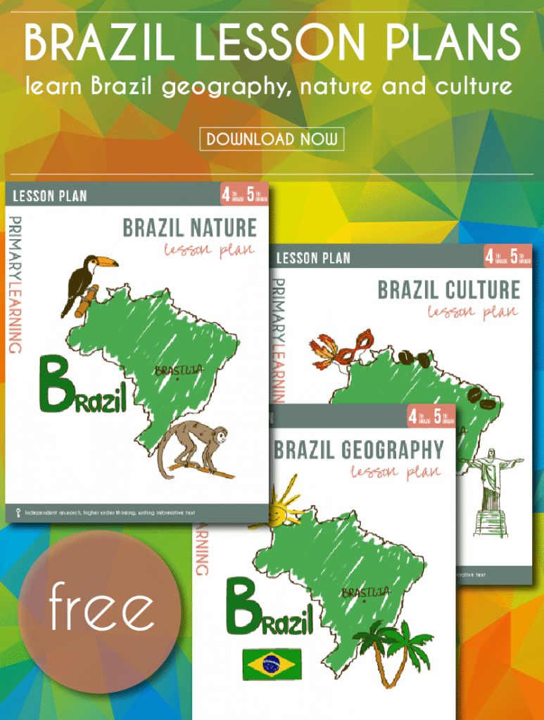 FREE Brazil Lesson Plans